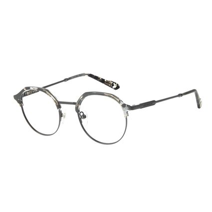 Armação Para Óculos de Grau Unissex Marvel Pantera Negra Tartaruga LV.MT.0471-0601