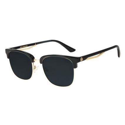 Óculos de Sol Masculino Marvel Homem de Ferro Jazz Preto OC.CL.3132-0101