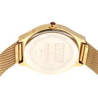 Relógio Analógico Feminino Marvel Thanos Dourado RE.MT.1122-2121.10