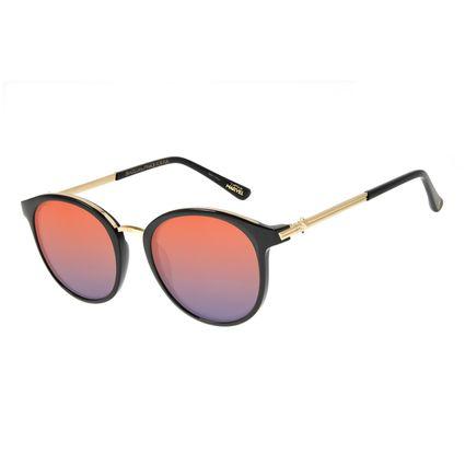 Óculos de Sol Feminino Marvel Capitã Marvel Preto OC.CL.3119-1101