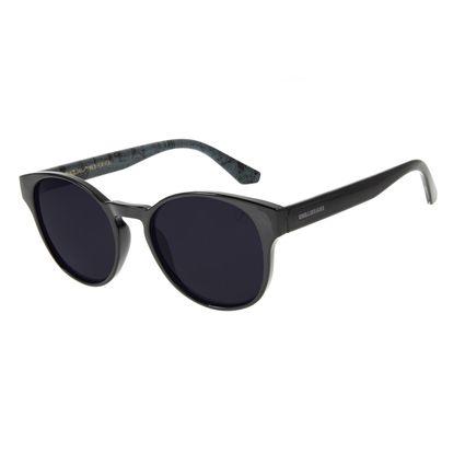 Óculos de Sol Unissex Marvel Comics Redondo Preto OC.CL.3129-0101