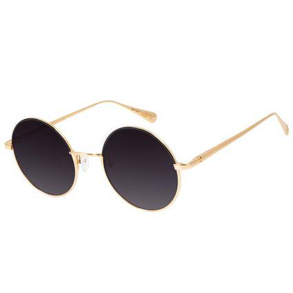 Óculos de Sol Feminino Capitã Marvel Degradê Banhado A Ouro OC.MT.2944-2021