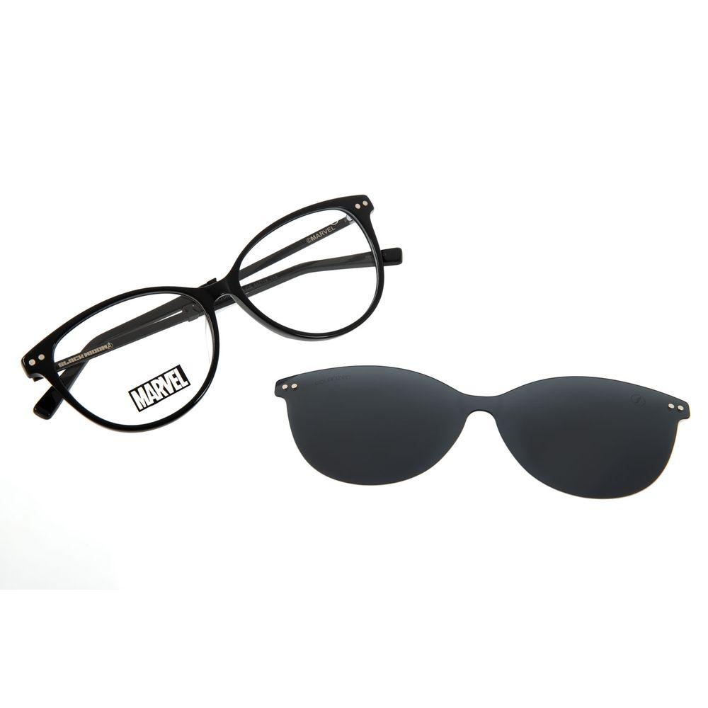 Armação Para Óculos de Grau Feminino Marvel Viúva Negra Preto LV.MU.0485-0101