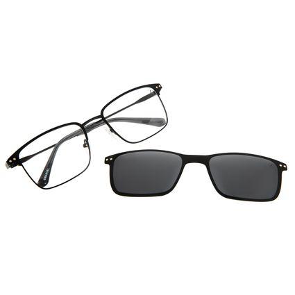 Armação Para Óculos de Grau Masculino Multi Marvel Homem de Ferro Preto LV.MU.0486-0101