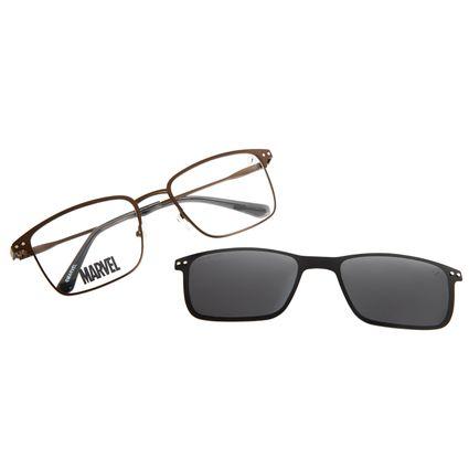 Armação Para Óculos de Grau Masculino Multi Marvel Homem de Ferro Marrom LV.MU.0486-0102