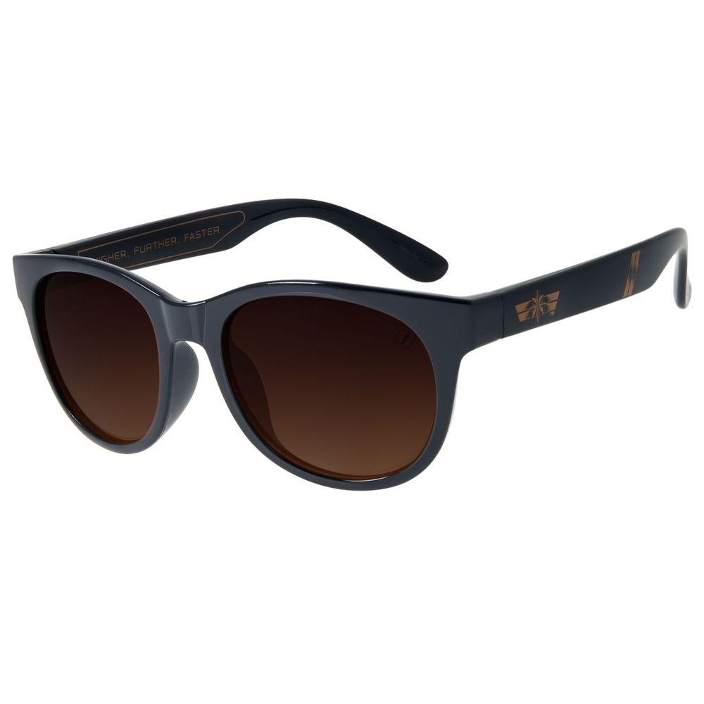 Óculos de Sol Infantil Capitã Marvel Quadrado Azul OC.KD.0672-5708