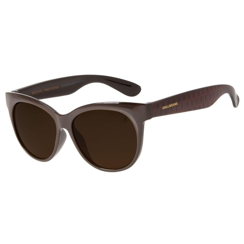 Óculos de Sol Infantil Marvel Viúva Negra Marrom OC.KD.0671-0202