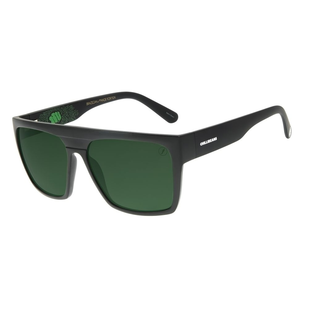 Óculos de Sol Masculino Marvel Hulk Preto OC.CL.3117-1501