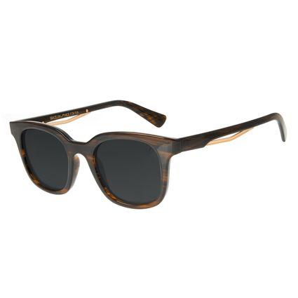 Óculos de Sol Masculino Marvel Homem de Ferro Caramelo OC.CL.3120-0103
