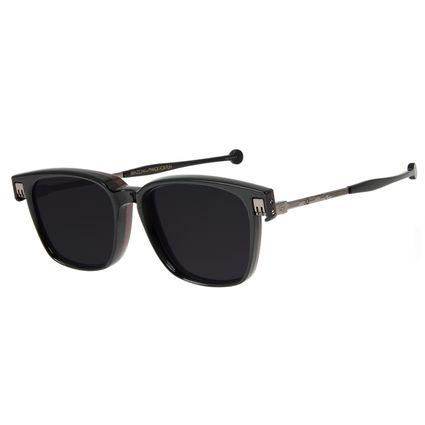 Óculos de Sol Unissex Marvel Homem de Ferro 2 em 1 Preto OC.CL.3122-0101