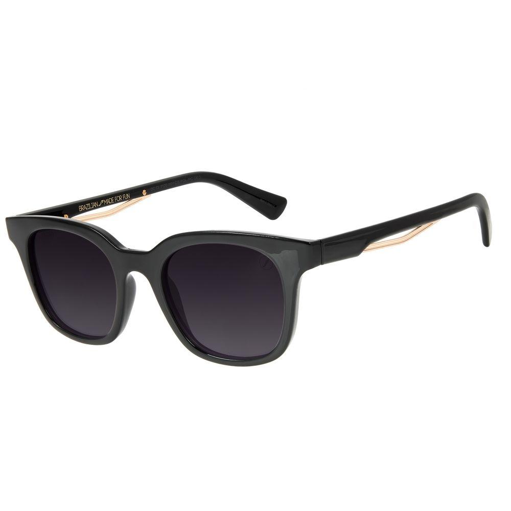Óculos de Sol Masculino Marvel Homem de Ferro Preto OC.CL.3120-2001