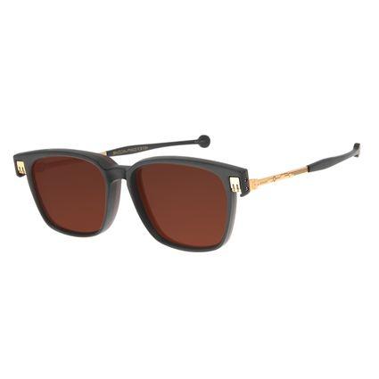 Óculos de Sol Unissex Marvel Homem de Ferro 2 em 1 Vinho OC.CL.3122-0217