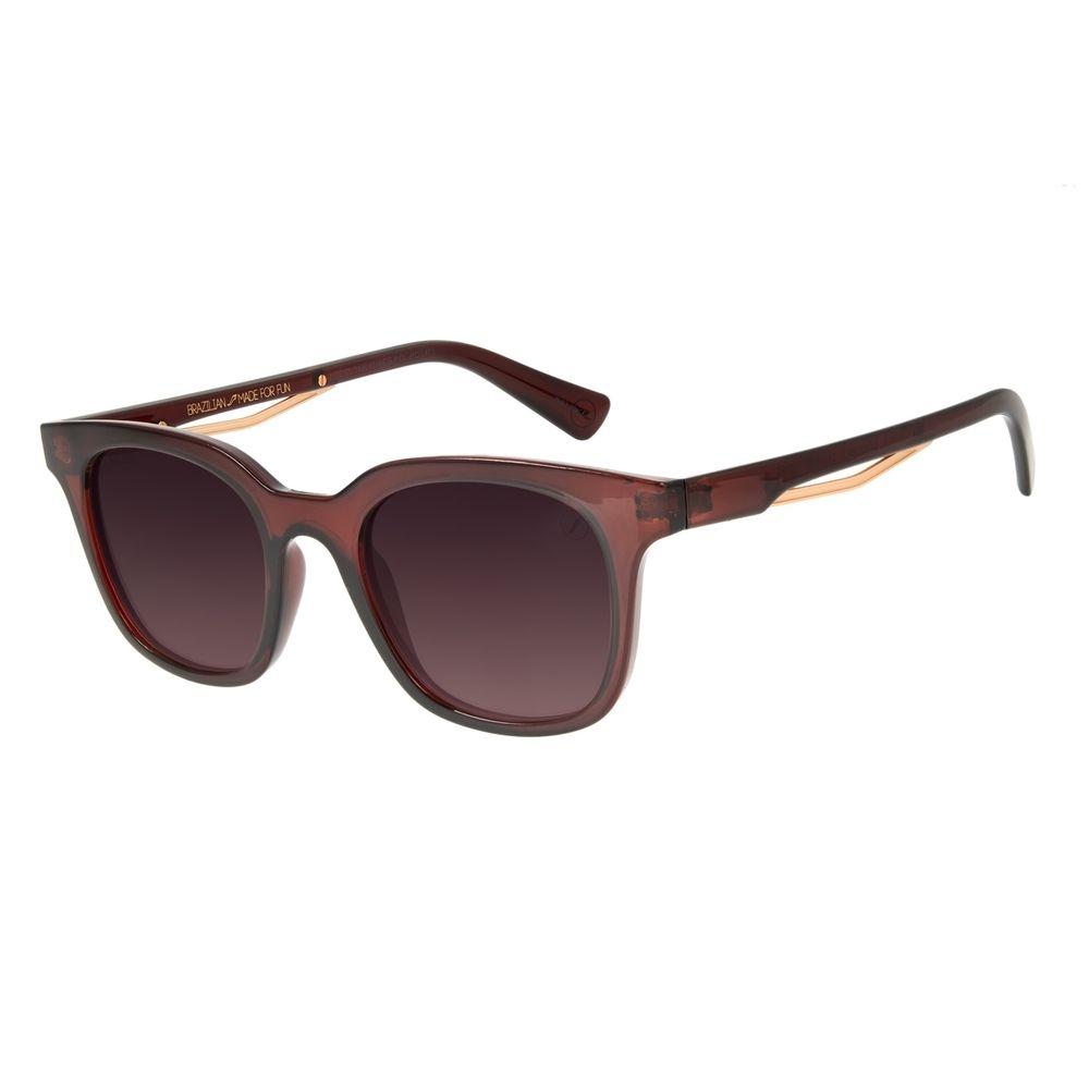Óculos de Sol Masculino Marvel Homem de Ferro Vermelho OC.CL.3120-5716
