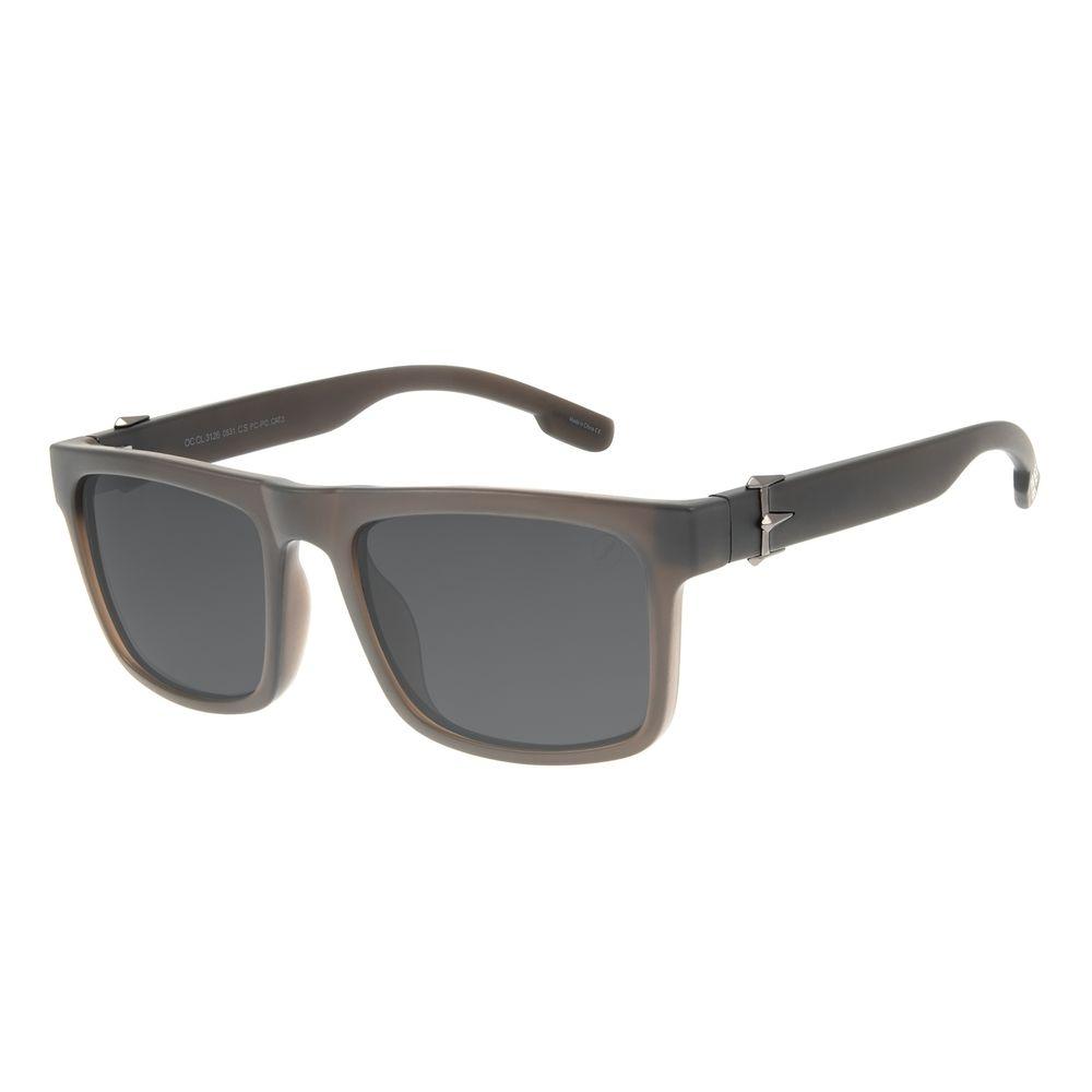 Óculos de Sol Masculino Marvel Pantera Negra Fosco OC.CL.3126-0531