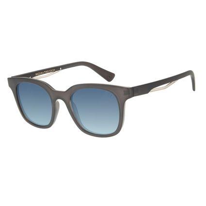 Óculos de Sol Masculino Marvel Homem de Ferro Degradê Azul OC.CL.3120-8301
