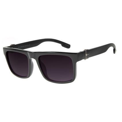 Óculos de Sol Masculino Marvel Pantera Negra Preto OC.CL.3126-2001