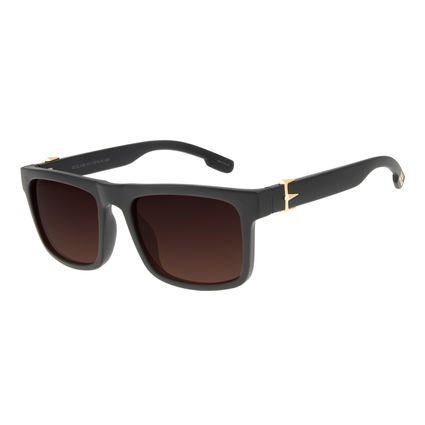 Óculos de Sol Masculino Marvel Pantera Negra Degradê Marrom OC.CL.3126-5731