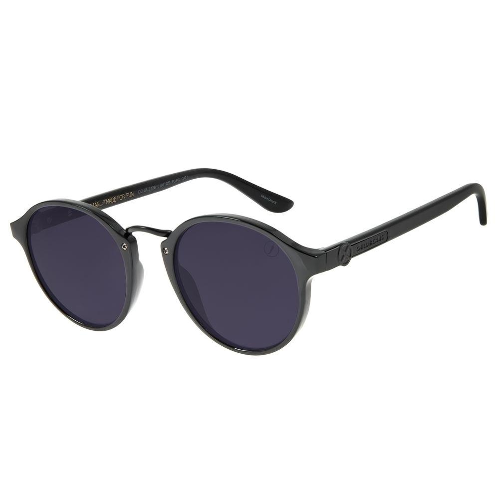 Óculos de Sol Unissex Marvel X-Men Redondo Preto OC.CL.3128-0101