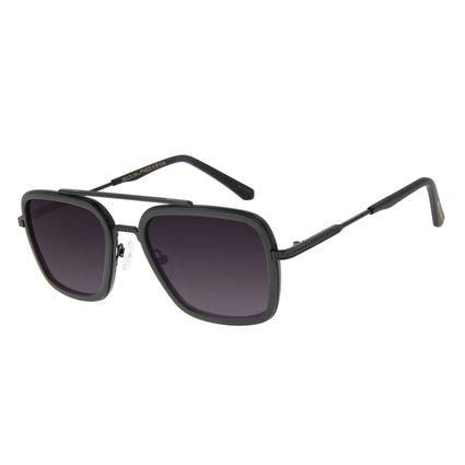 Óculos Sol Masculino Marvel Pantera Negra Executivo Fosco OC.MT.2950-2031
