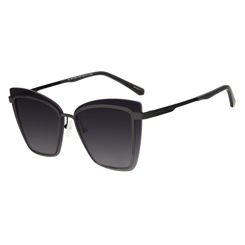 Óculos de Sol Feminino Marvel Homem de Ferro Quadrado Fosco OC.MT.2951-2031