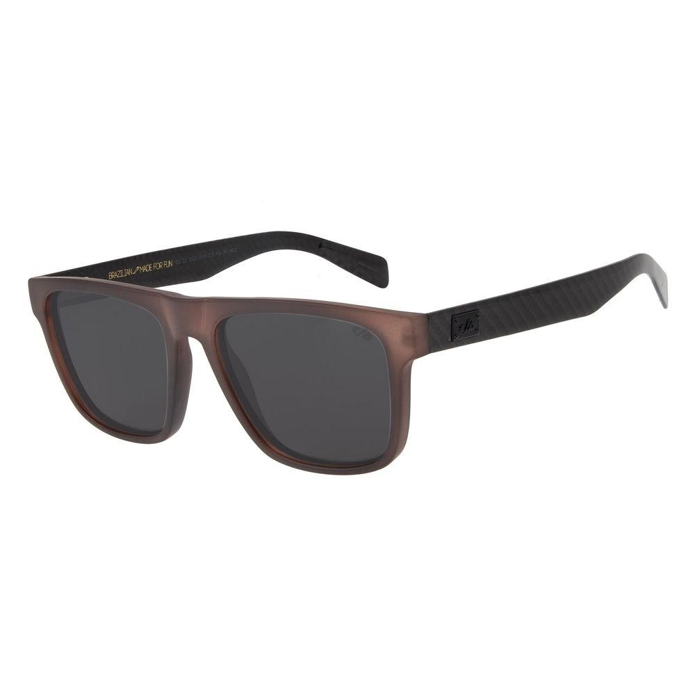 Óculos de Sol Masculino Chilli Beans Bossa Nova Marrom OC.CL.3022-0102