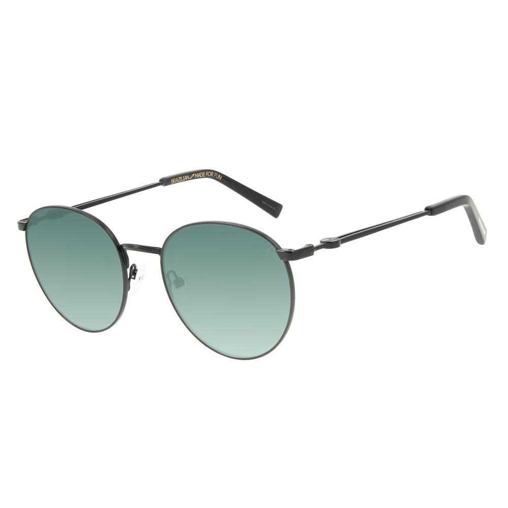 Óculos de Sol Unissex Marvel Hulk Redondo Degradê Verde OC.MT.2969-8201