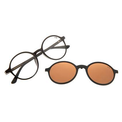 Armação Para Óculos De Grau Unissex Chilli Beans Marrom LV.MU.0260-0201