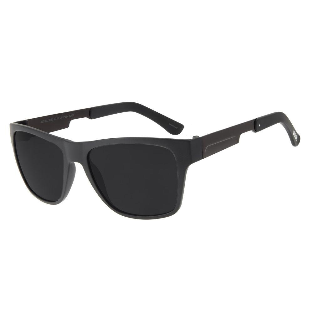 Óculos de Sol Masculino Bossa Nova Barber Shop Preto OC.CL.3080-0101
