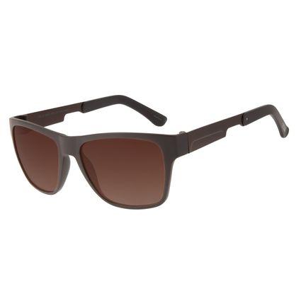 Óculos de Sol Masculino Bossa Nova Barber Shop Marrom OC.CL.3080-5702