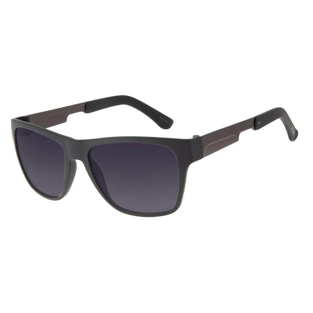 Óculos de Sol Masculino Bossa Nova Barber Shop Degradê Azul OC.CL.3080-8301