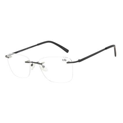 Armação Para Óculos de Grau Masculino Chilli Beans Classic 3 Peças Preto LV.MT.0436-0101