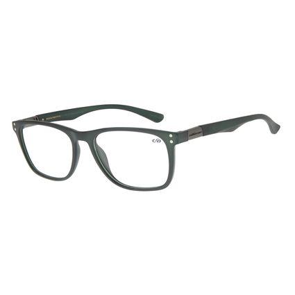 Armação Para Óculos de Grau Masculino Chilli Beans QuadradoTR90 Verde LV.IJ.0130-1515