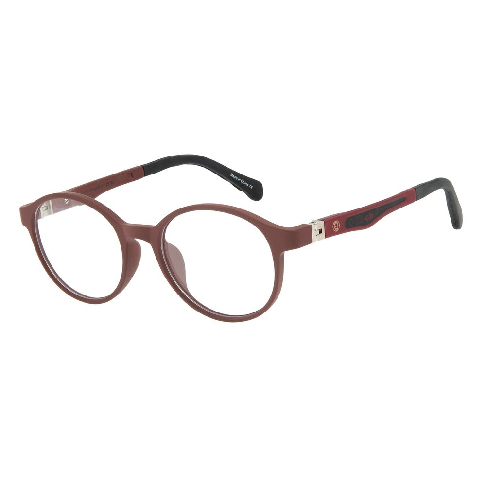 Armação Para Óculos de Grau Infantil Disney Vingadores Homem de Ferro Vinho LV.IJ.0165-1717