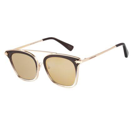 Óculos de Sol Feminino Anitta Star Espelhado OC.CL.2352-3204