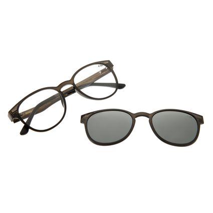 Armação Para Óculos Grau Feminino Chilli Beans Multi Cinza Polarizado LV.MU.0020-0104