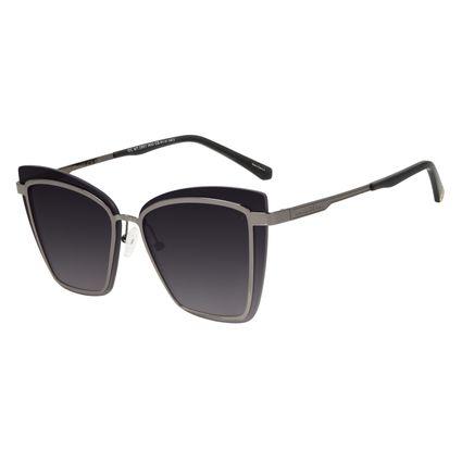 Óculos de Sol Feminino Marvel Homem de Ferro Quadrado Ônix OC.MT.2951-2022