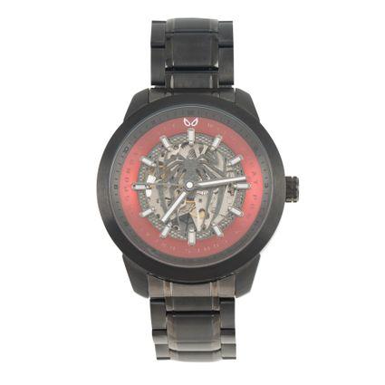 Relógio Automático Masculino Marvel Homem Aranha Preto RE.MT.1149-1601