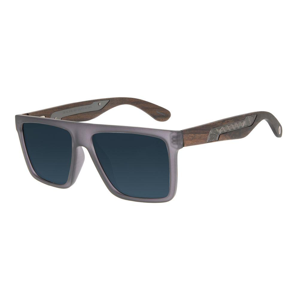 Óculos de Sol Masculino Marvel Pantera Negra Fosco OC.CL.3125-0531