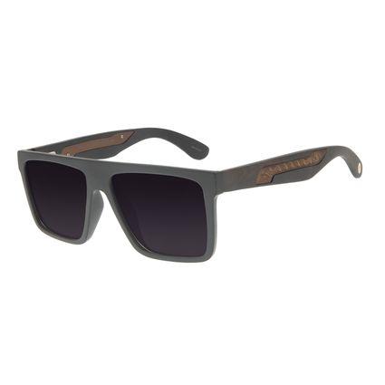 Óculos de Sol Masculino Chilli Beans Bossa Nova Marrom Escuro Fosco OC.CL.3125-2031