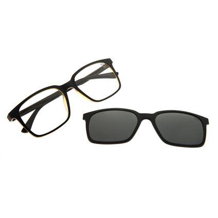 Armação Para Óculos De Grau Masculino Chilli Beans Multi Preto Fosco LV.MU.0489-0101