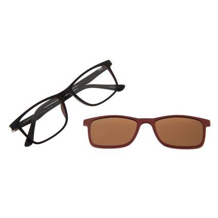 Armação Para Óculos de Grau Infantil Disney Vingadores Multi Marrom LV.MU.0373-0201