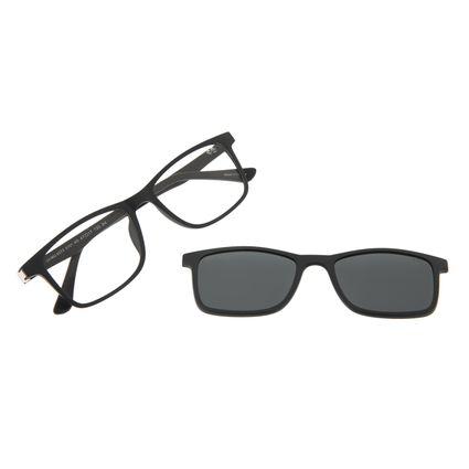 Armação Para Óculos de Grau Infantil Disney Vingadores Multi Preto LV.MU.0373-0101