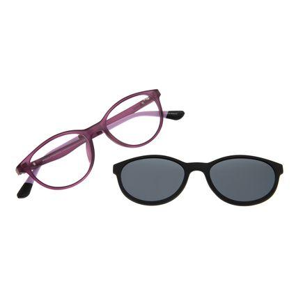 Armação para Óculos de Grau Infantil Multi Flexível Roxo LV.MU.0335-0114