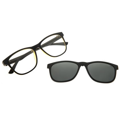 Armação Para Óculos Grau Feminino Chilli Beans Multi Preto Polarizado LV.MU.0491-0101