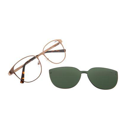 Armação Para Óculos De Grau Feminino Chilli Beans Multi Marrom LV.MU.0304-1502