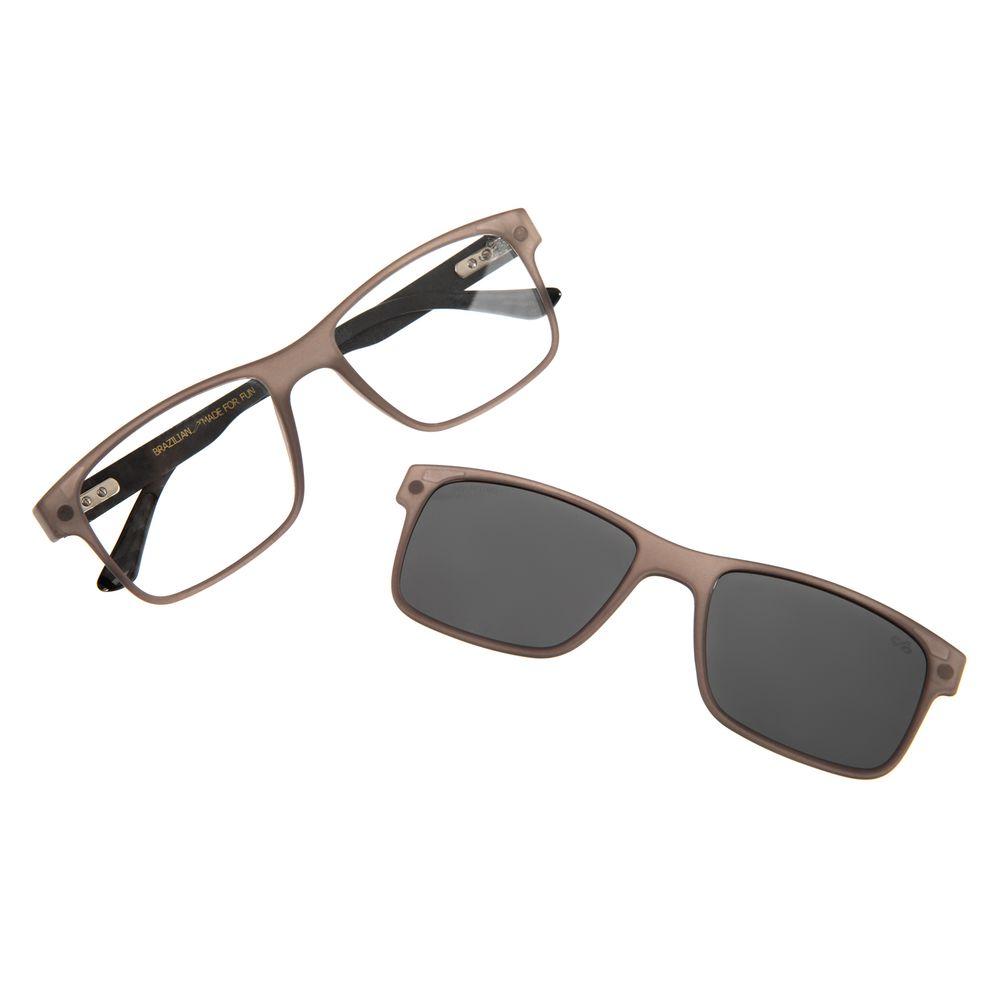 Armação Para Óculos de Grau Masculino Chilli Beans Multi Preto LV.MU.0261-0401