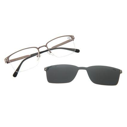 Armação Para Óculos Grau Masculino Chilli Beans Multi Ônix Polarizado LV.MU.0359.0422