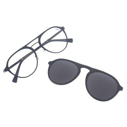 Armação para Óculos de Grau Unissex Chilli Beans Multi Polarizado Preto LV.MU.0153-0138
