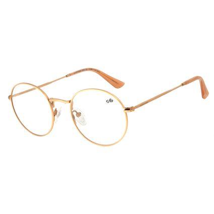 Armação Para Óculos de Grau Unissex Chilli Beans Redondo Rosê LV.MT.0338-9595