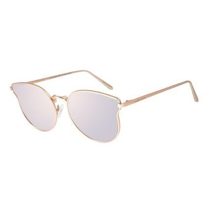 Óculos de Sol Feminino Chilli Beans Redondo Degradê Marrom OC.MT.2365-5795
